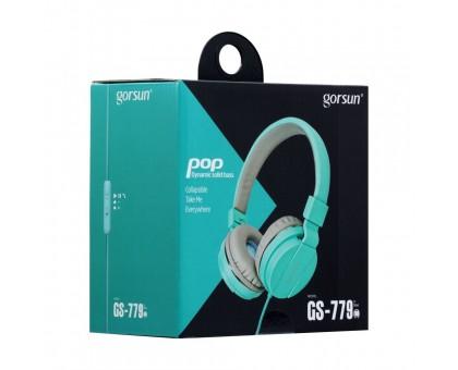 GORSUN Навушники & GS-779 з мікрофоном Vol. контроль