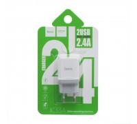 Мережевий Зарядний Пристрій Hoco C33A 2 USB
