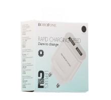 Мережевий Зарядний Пристрій Borofone BA8A 2 USB 2.1A