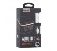 Мережевий Зарядний Пристрій LDNIO A1204Q QC3.0 Micro