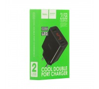 Мережевий Зарядний Пристрій Hoco C25A Cool 2 USB