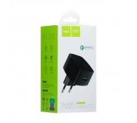 Мережевий Зарядний Пристрій Hoco C26 Mighty Power 1USB QC3.0