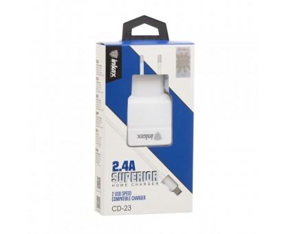 Мережевий Зарядний Пристрій Inkax CD-23 Micro