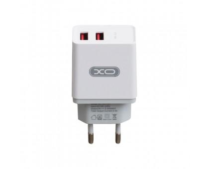 Мережевий Зарядний Пристрій XO L31 2USB