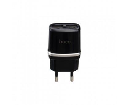 Мережевий Зарядний Пристрій Hoco C12 2 USB
