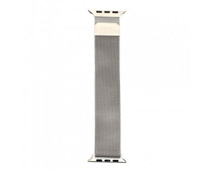 Ремінець Apple Watch Milanese loop 38 / 40mm Silver