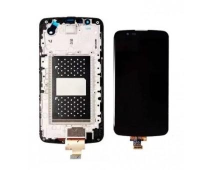 Дисплей LG K410TV K10TV/K430TV тачскрин сенсор черный с микросхемой в рамке