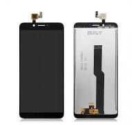 Дисплей Doogee X60L тачскрин сенсор черный #FPC-Y87512 F552489VB