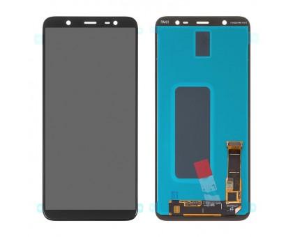 Дисплей Samsung J810F Galaxy J8 2018/J800F/Galaxy On8 2018 тачскрин сенсор черный Amoled оригинал сервисная упаковка #GH97-22145A