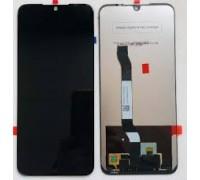 Дисплей Xiaomi Redmi Note 8T тачскрин сенсор черный в рамке
