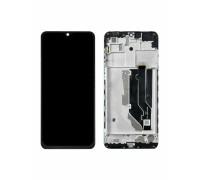 Дисплей ZTE 20 Smart Blade V1050 версия 1 тачскрин сенсор черный в рамке оригинал
