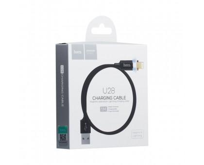 USB Hoco U28 Magnetic Adsorption Lightning