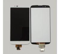Дисплей LG K410TV K10TV/K430TV тачскрин сенсор белый с микросхемой оригинал