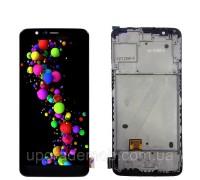 Дисплей OnePlus 5T A5010 тачскрин сенсор черный в рамке OLED копия хорошего качества