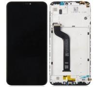 Дисплей Xiaomi Mi A2 Lite /Redmi 6 Pro + тачскрин (сенсор), черный, в рамке, с датчиком приближения