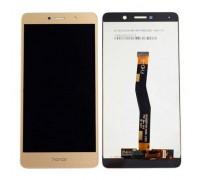 Дисплей Huawei Honor 6X (BLN-L21)/Mate 9 Lite/GR5 (2017) + тачскрин сенсор, золотистый