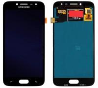 Дисплей Samsung J250F Galaxy J2 2018/J250F Galaxy J2 Pro 2018 + тачскрин (сенсор), черный, TFT, копия