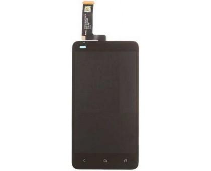 Дисплей для HTC One SC T528d + сенсорний екран, чорний