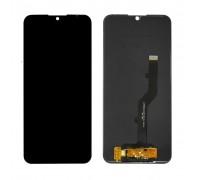 Дисплей ZTE A7 2019 Blade + тачскрин (сенсор), черный, оригинал