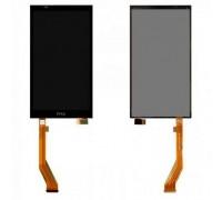 Модульний дисплей для HTC Desire 816, D816w + Екран тачскрін чорний з жовтим шлейфом