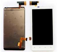 Дисплей для HTC Raider 4G X710e G19 + сенсорний екран, білий свято / Яскравий / Velocity 4G