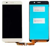 Дисплей для Huawei Ascend Y6 + сенсорний екран, білий