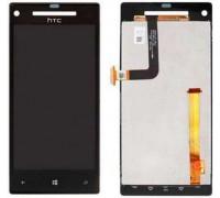Дисплей для HTC Windows Phone 8X C620e + сенсорний екран, чорний Accord C620d