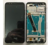 Дисплей Honor 9 Lite LLD-L31 + тачскрин (сенсор), черный, в рамке, Midnight Black