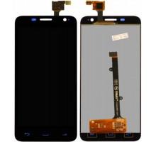 Дисплей Alcatel 6012 Onetouch Idol Mini/6012A/6012D/6012E/6012W/6012X + тачскрин (сенсор), черный