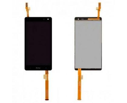 Дисплей для HTC Desire 600 Dual SIM / 606w + сенсорний екран, чорний