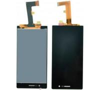 Дисплей для Huawei Ascend P7 + сенсорний екран, чорний