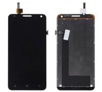 Модуль для Lenovo S580 (дисплей + тачскрин), чёрный, оригинал PRC