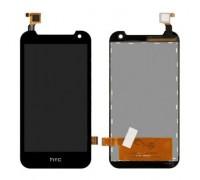 Дисплей для HTC Бажання 310 + сенсорний екран, чорний (128 * 63,5) (63,5 * 128)