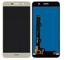 Дисплей (экран) для телефона Huawei Y6 Pro TIT-U02, Y6 Pro TIT-AL00, Enjoy 5, Honor Play 5X + тачскрин (сенсор), золотистый, оригинал
