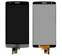 Дисплей для LG G3S D724 Dual + сенсорний екран, сірий, з передньою панеллю, оригінал (Китай)