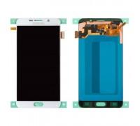 Дисплей Samsung N920C Galaxy Note 5/N920F/N9200 + тачскрин (сенсор), серебристый, Silver Titan, Amoled, оригинал