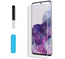 Защитное 3D стекло Nano Optics с УФ лампой для Samsung Galaxy S20 Ultra