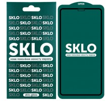 Защитное стекло SKLO 5D (full glue) для Apple iPhone 12 Pro Max (6.7