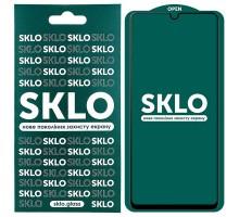 Защитное стекло SKLO 5D (full glue) для Samsung Galaxy A42 5G