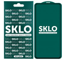 Защитное стекло SKLO 5D (full glue) для Samsung Galaxy S10 Lite