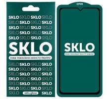 Защитное стекло SKLO 5D (full glue) для Xiaomi Redmi 9A / 9C
