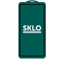Защитное стекло SKLO 5D (full glue) (тех.пак) для Apple iPhone 12 Pro Max (6.7