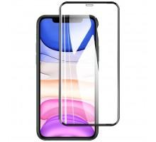 Защитное стекло XD+ (full glue) (тех.пак) для Apple iPhone 11 (6.1